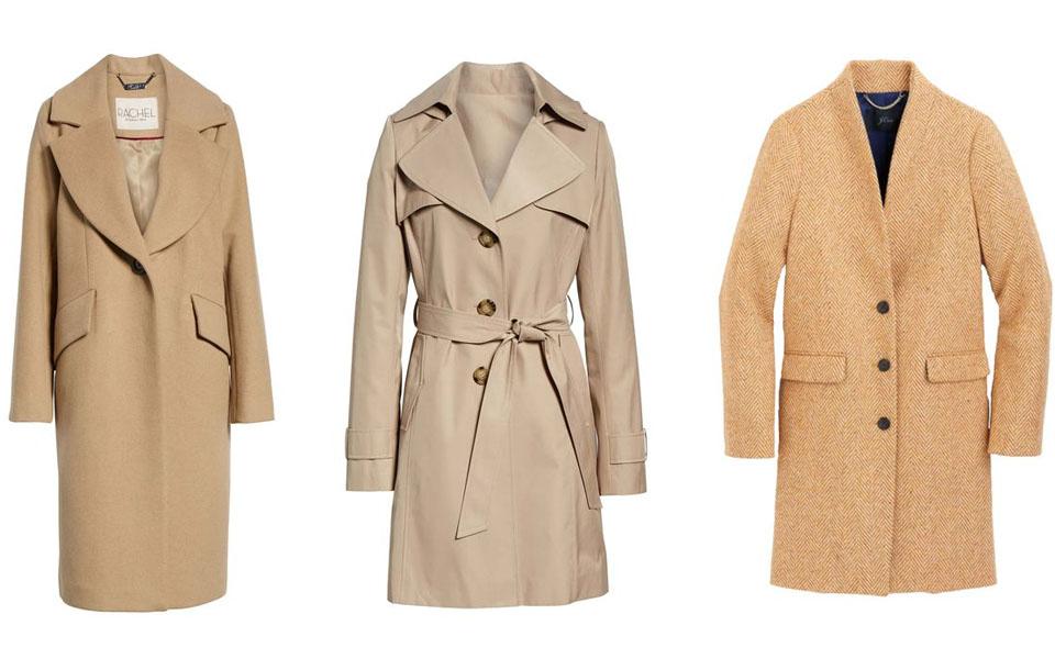 Camel Coat to enhance luxury look