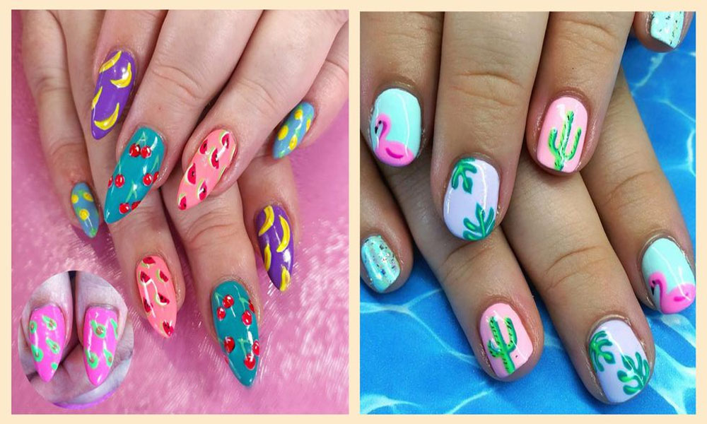 8 Fun And Trendy Nail Art Designs For Summer 2020