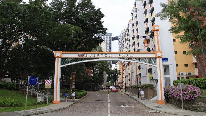 Everton Park Singapore is surrounded by a comparatively quiet residential locality where a number of diverse old shophouses are present.