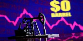 crude oil price drop