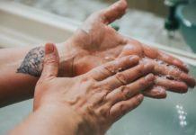 washing hands to kill coronavirus
